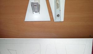 KROK V– Wycinanie górnej półki i stopek